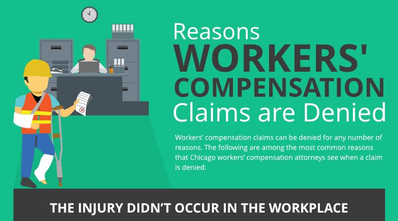 Reasons Workers' Compensation Claims are Denied
