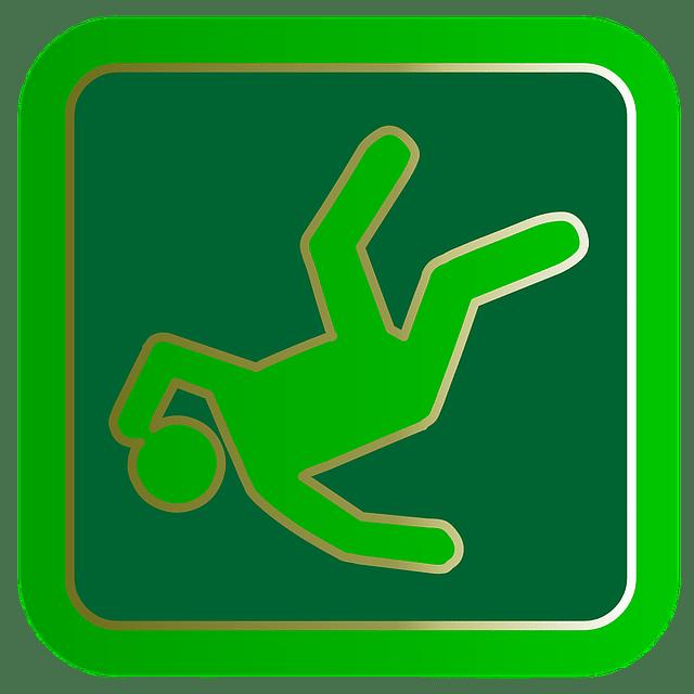 Fall Injury Sign_work injury lawyer